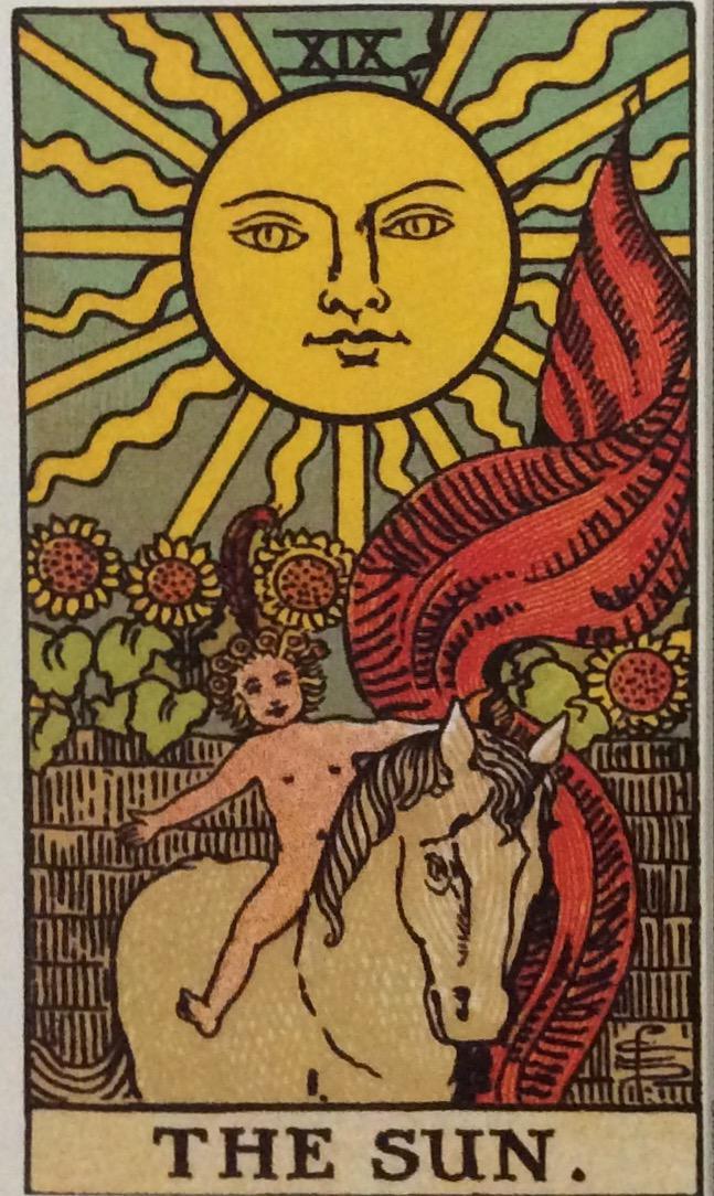 Exploring Tarot Cards:Sun