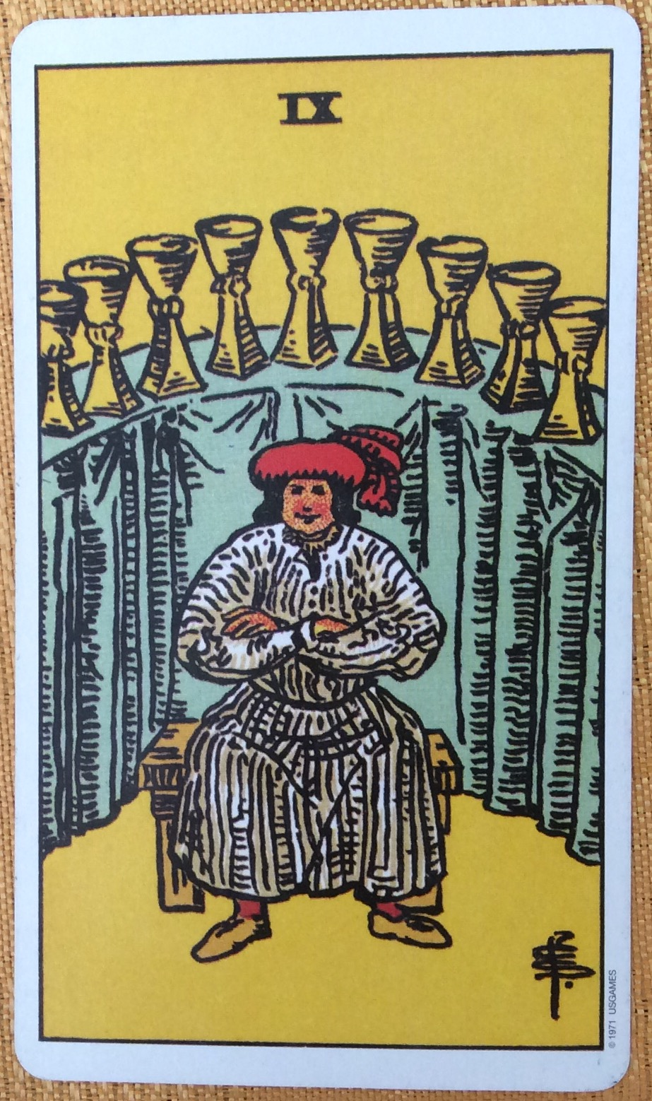 Nine-of-Cups